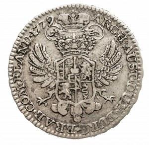 Austria, Niderlandy, Maria Teresa, 1/2 talara 1779, Bruksela (2)
