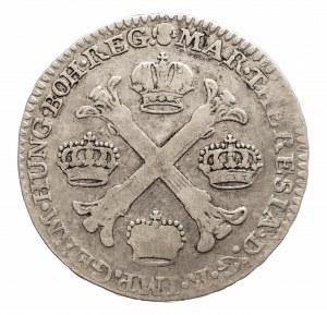 Austria, Niderlandy, Maria Teresa, 1/2 talara 1775, Bruksela (2)