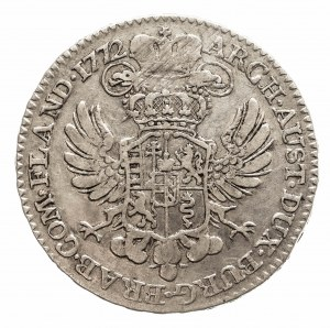 Austria, Niderlandy, Maria Teresa, 1/2 talara 1772, Bruksela (2)