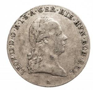 Austria, Niderlandy, Leopold II, 1/4 talara 1792 A, Wiedeń