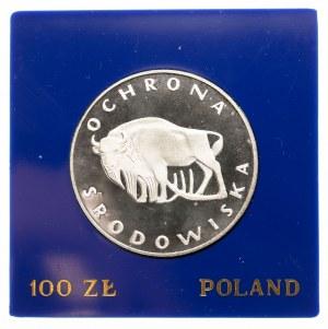 Polska, PRL 1944-1989, 100 złotych 1977, ŻUBR