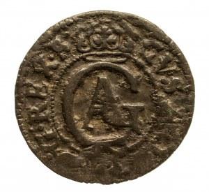 Polska, Gustaw II Adolf 1617–1632, okupacja szwedzka, miasto Elbląg, szeląg 1631, Elbląg