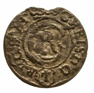 Polska, Krystyna 1632–1654, okupacja szwedzka, miasto Elbląg, szeląg 1635, Elbląg