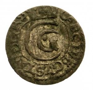 Ryga - miasto, Karol X Gustaw 1654–1660, szeląg 1654, Ryga