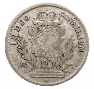 Niemcy, Bawaria, Maximilian III. Joseph 1745-1777, 10 krajcarów 1774, Monachium.