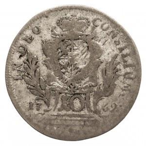 Niemcy, Bawaria, Maximilian III. Joseph 1745-1777, 10 krajcarów 1769, Monachium.