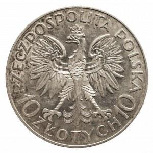 Polska, II Rzeczpospolita 1918-1939, 10 złotych 1933, Warszawa, Jan III Sobieski
