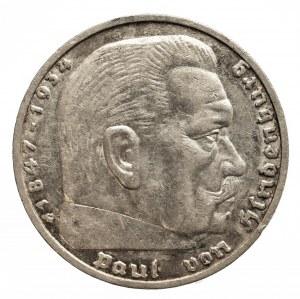 Niemcy, III Rzesza 1933-1945, 5 marek 1936 G, Karlsruhe