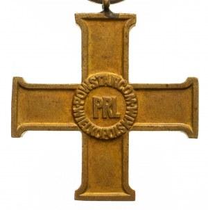 Wielkopolski Krzyż Powstańczy ze wstążką