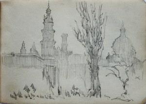 Józef Pieniążek (1888-1953), Widok na miasto
