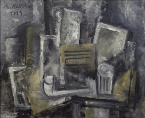 Alicja HALICKA (1894-1975), Martwa natura kubistyczna
