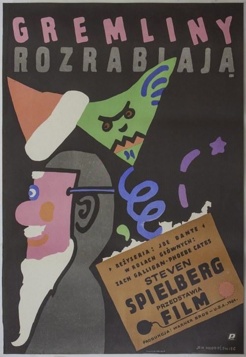 Jan MŁODOŻENIEC (1929-2000) – projektant, Gremliny rozrabiają, 1985