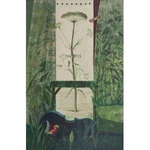 Allan RZEPKA (ur. 1940), Dzięgiel II, XVIII strona szkicownika, 1989