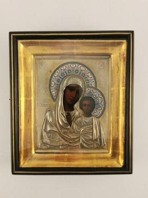 Ikona Matka Boska Kazańska z Dzieciątkiem