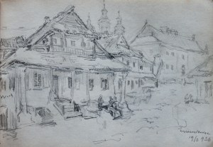 Józef Pieniążek (1888-1953), Zabudowania w Krzemieńcu, 1926