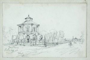 Tadeusz Rybkowski (1848-1926), Zabudowa podmiejska, 1886