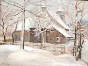 Stanisław Borysowski (ur. 1901 Lwów - zm. 1988 Toruń), Kościółek na Podhalu