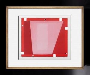 JERZY NOWOSIELSKI, Abstrakcja czerwona 1995