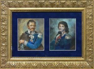 Władysław Leszczyński (1852–1916), Para portretów: Ks. Józef Poniatowski i Tadeusz Kościuszko
