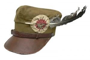 CZAPKA ROGATYWKA TOWARZYSTWA GIMNASTYCZNEGO SOKÓŁ, WZ 1919
