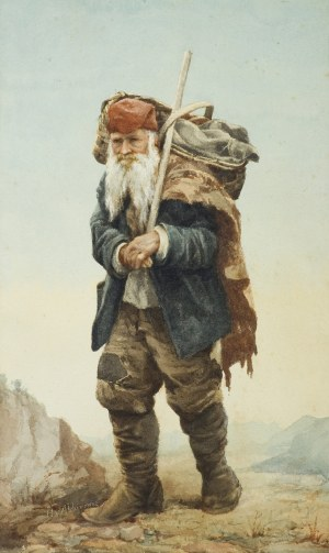 Alchimowicz Hiacynt, WĘDROWIEC