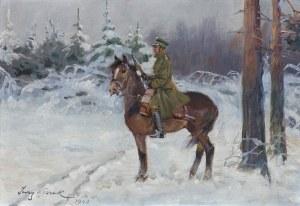 Kossak Jerzy, UŁAN NA WIDECIE, 1940