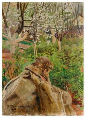 Jacek Malczewski (1854-1929), Sybirak, 1900
