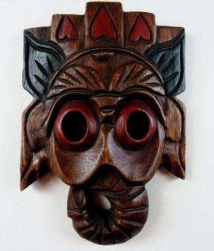 Maska Afrykańska, drewno, wym. 28 x 20 cm