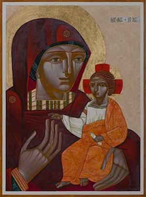 Ulyana Tomkevych, Matka Boska z Jezusem, 2018