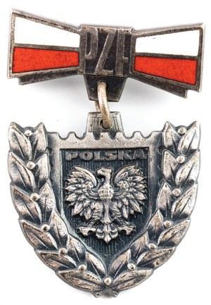 SREBRNA ODZNAKA ZA ZASŁUGI DLA POLSKIEJ FILATELISTYKI wz. 1979