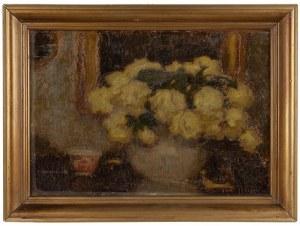 Alfons Karpiński (1875 Rozwadów - 1961 Kraków) - Żółte róże