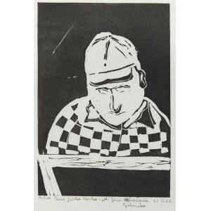 Józef Gielniak (1932 Denain we Francji - 1972 Bukowiec koło Kowar), Portret Pana Jurka Panka, 1968 r.