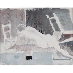 Piotr Potworowski (1898 Warszawa-1962 tamże), Akt szary, 1956 r.