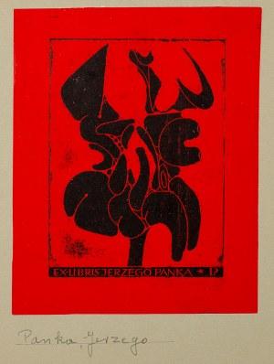 Henryk Płóciennik (ur. 1933 Łódź), Ex libris Jerzego Panka, 1969 r.