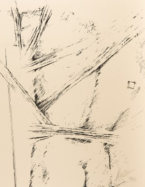 Igor Mitoraj (1944 Oederan – 2014 Paryż), Akt męski