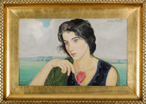 Wlastimil HOFMAN (1881-1970), Zamyślona (1930)