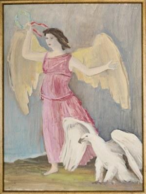 Janusz Maria BRZESKI (1907-1957), Nike - projekt plakatu