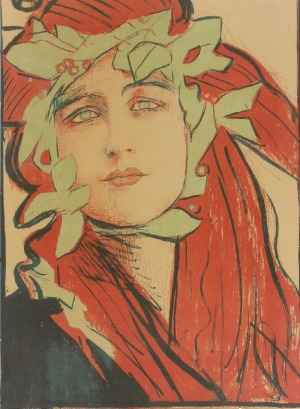 """Teodor  AXENTOWICZ (1859-1938), II Wystawa Towarzystwa """"SZTUKA"""", 1898"""