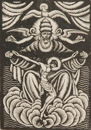 Władysłąw SKOCZYLAS (1883-1934), Trójca Święta, ok.1935