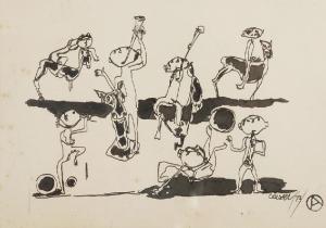 Otto AXER (1906 - 1983), Septet, 1973 r.
