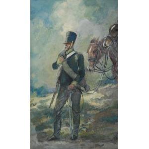 Jerzy KOŻUCHOWSKI, Kirasjer i para koni