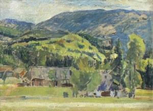 Antoni Soldinger, Pejzaż podgórski, 1930