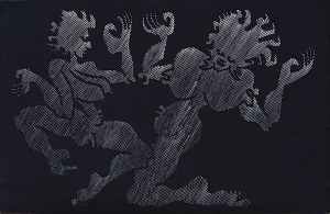 "Jan Dobkowski (ur. 1942), Z cyklu ""Uniwersum CLV"", 1999"