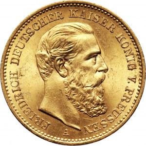 Niemcy, Prusy, Fryderyk III, 20 marek 1888 A, Berlin