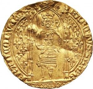 Francja, Karol V 1364-1380, Franc à pied