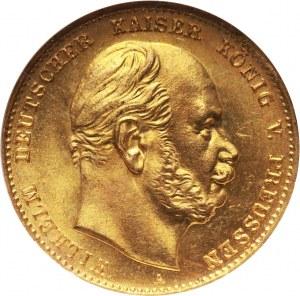 Niemcy, Prusy, Wilhelm I, 10 marek 1872 A, Berlin