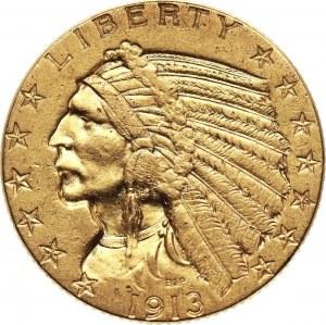 Stany Zjednoczone, 5 dolarów 1913, Filadelfia