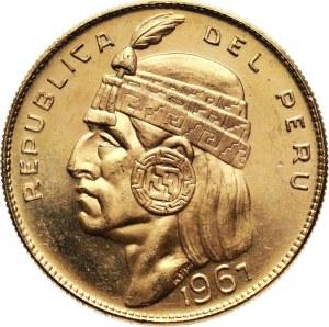 Peru, 50 Soles 1967, Indian