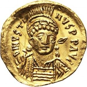Bizancjum, Justyn I 518-527, solidus, Konstantynopol