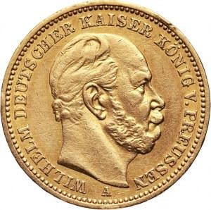 Niemcy, Prusy, Wilhelm I, 20 marek 1883 A, Berlin